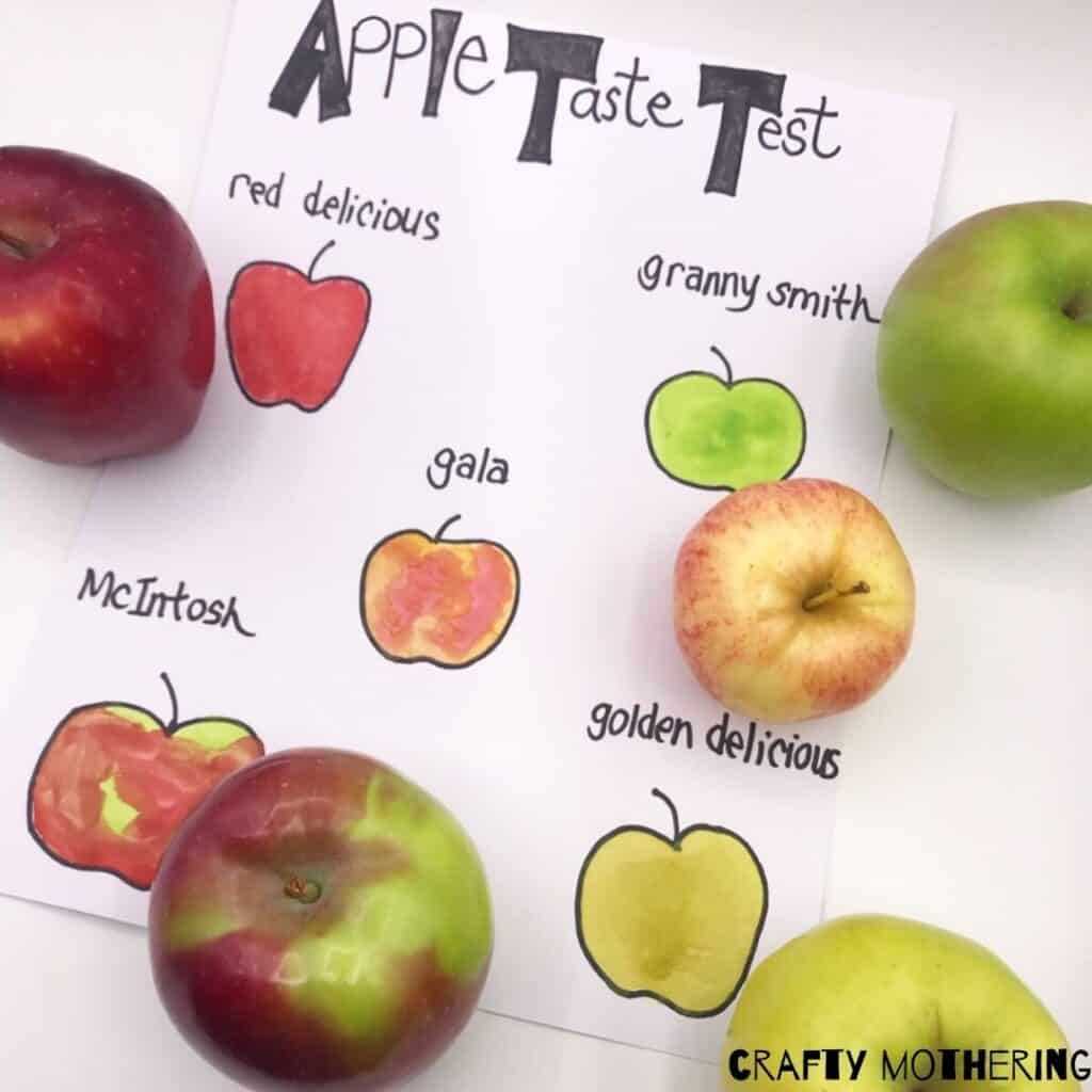 apple taste test