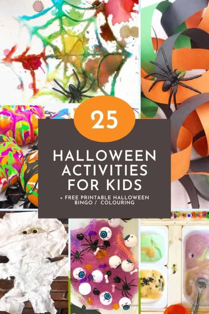 25 fun halloween activities for kids free printable