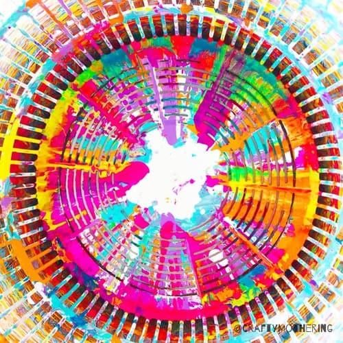 salad spinner art for kids