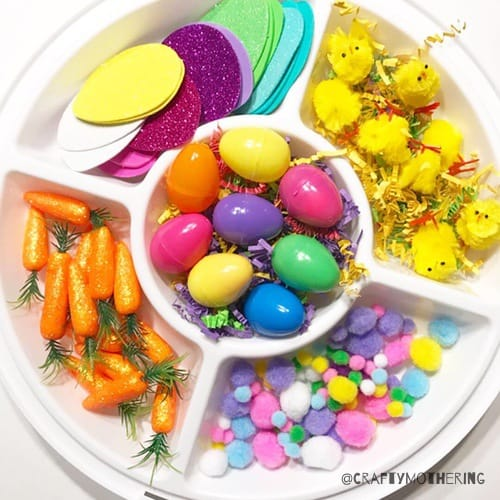 easter play loose parts