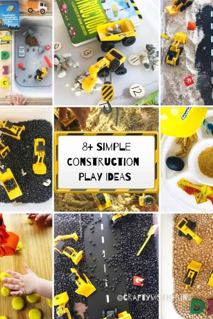 8+ simple construction play ideas